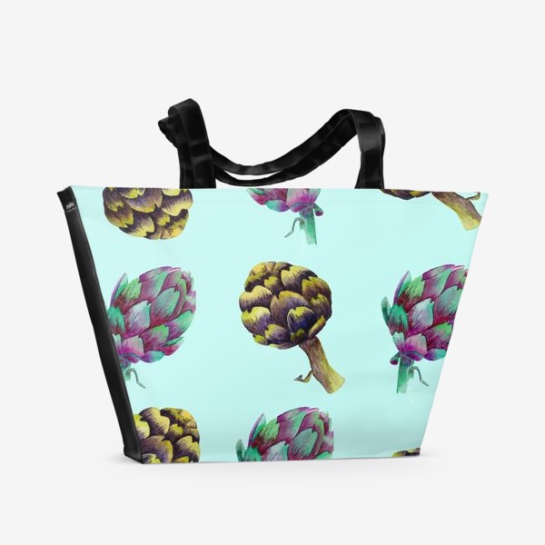 Пляжная сумка «Артишок»