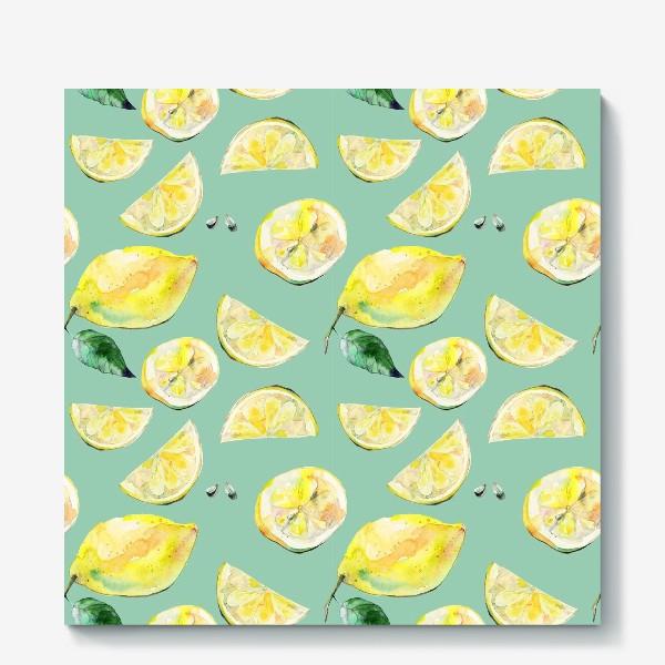 Холст «Лимончики 2»
