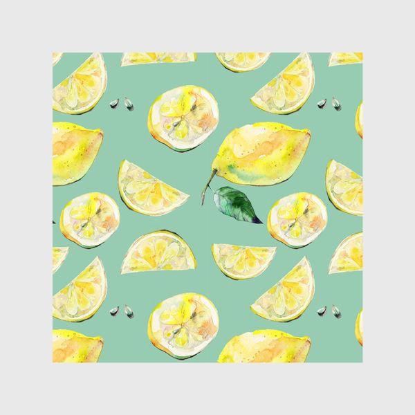 Шторы «Лимончики 2»