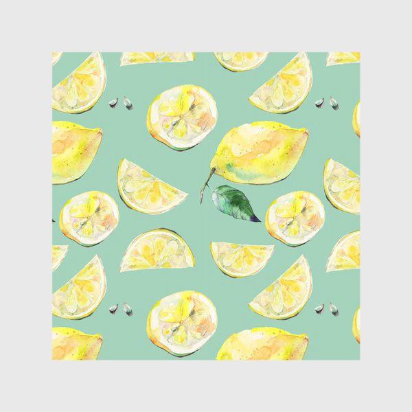 Скатерть «Лимончики 2»