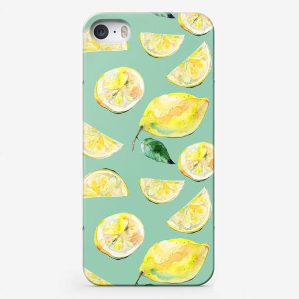 Чехол iPhone «Лимончики 2»