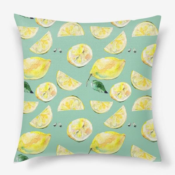 Подушка «Лимончики 2»