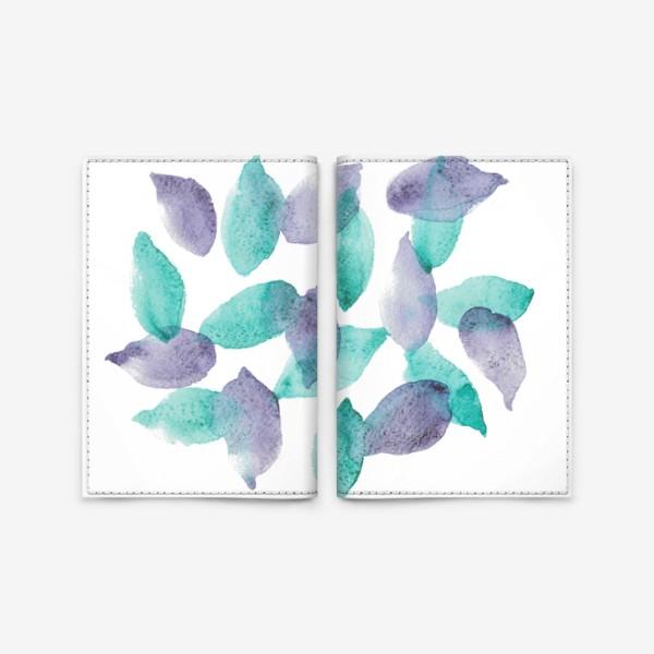 Обложка для паспорта «Leaves»