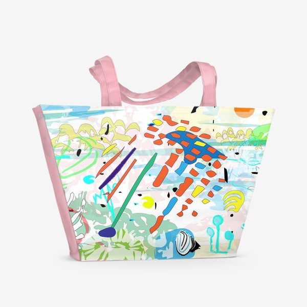 Пляжная сумка «Морская»