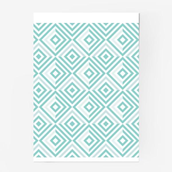 Постер «Модная геометрия»