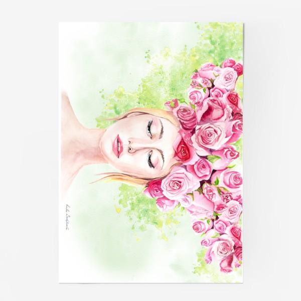 Постер «Девушка лето»