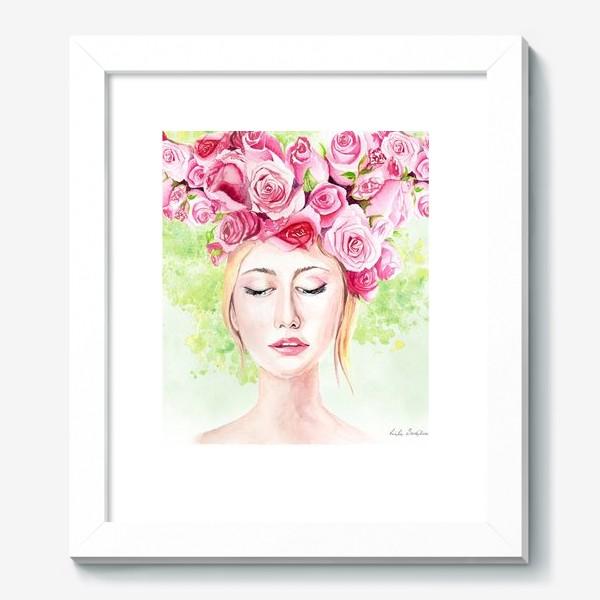 Картина «Девушка лето»