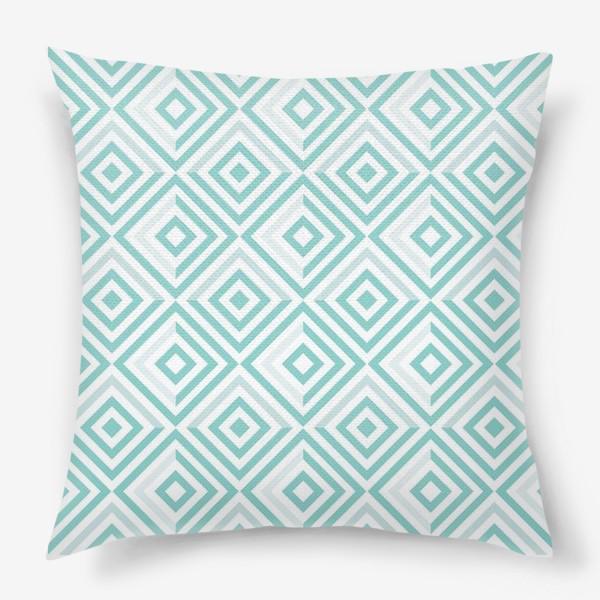 Подушка «Модная геометрия»