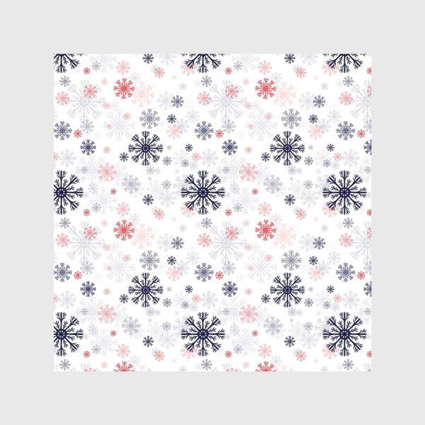 Скатерть «Цветные снежинки»
