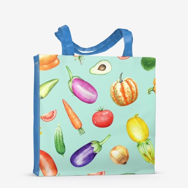 Сумка-шоппер «Овощная грядка 2»