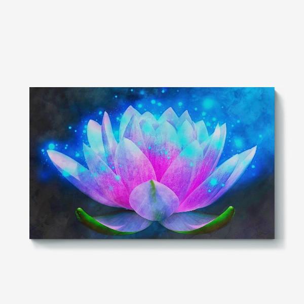 Холст «Мистический цветок лотоса»