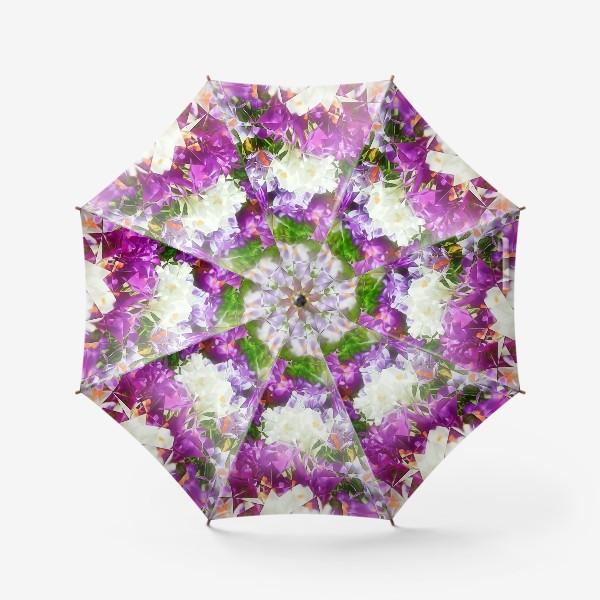 Зонт «Абстракция из крокусов»