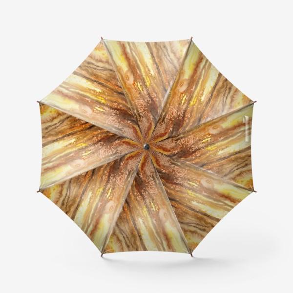 Зонт «Осенний лес. Абстракция.»