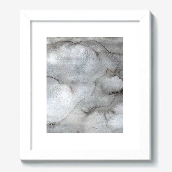 Картина «Абстрактный акварельный фон с пятнами краски.»