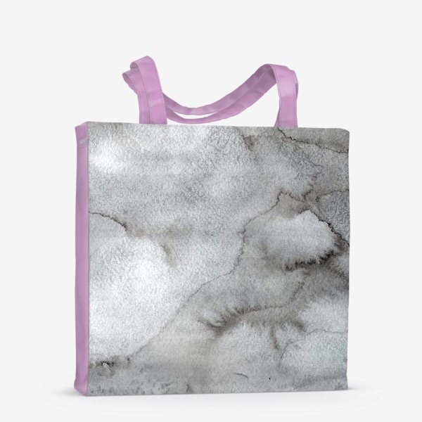 Сумка-шоппер «Абстрактный акварельный фон с пятнами краски.»