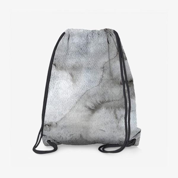 Рюкзак «Абстрактный акварельный фон с пятнами краски.»
