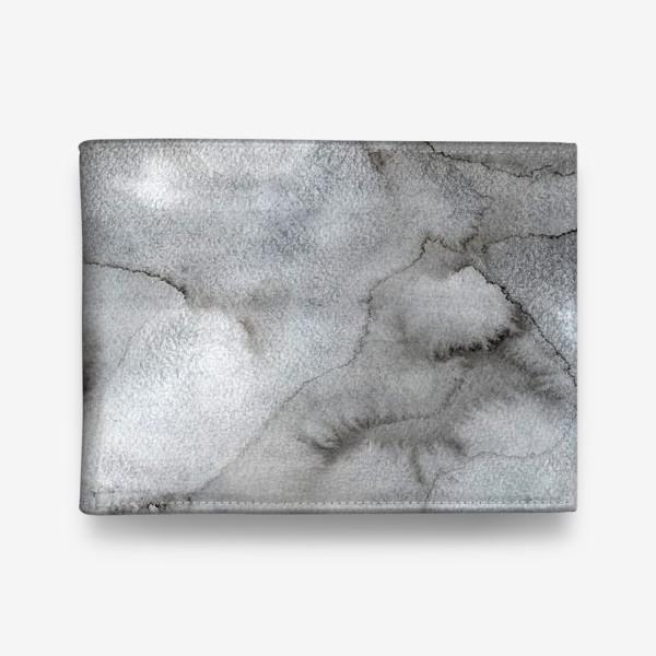 Кошелек «Абстрактный акварельный фон с пятнами краски.»