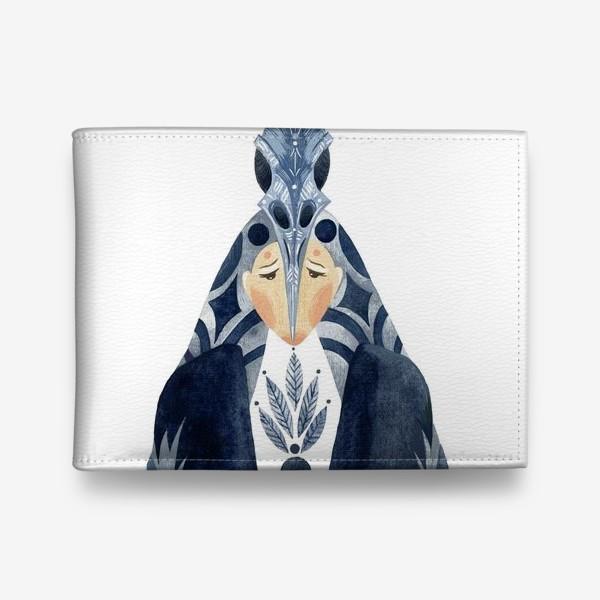 Кошелек «Шаман-Ворон портрет»