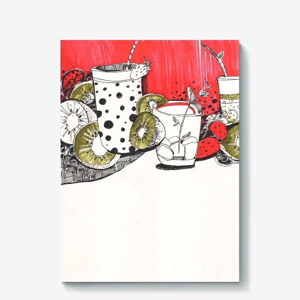 Холст «Утренний коктейль»