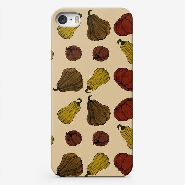 Чехол iPhone «Тыковки»