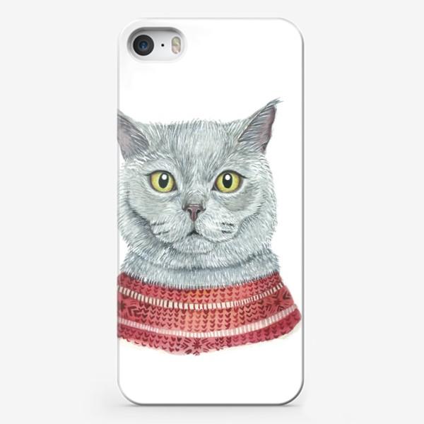 Чехол iPhone «Кот»