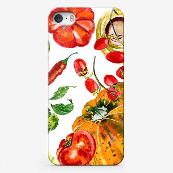 Чехол iPhone «овощной микс»