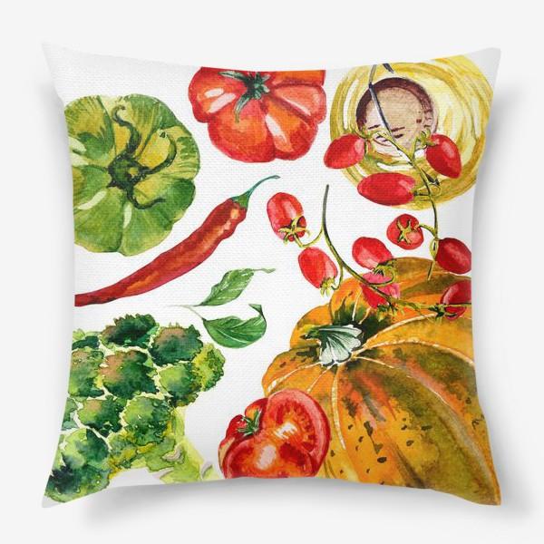 Подушка «овощной микс»