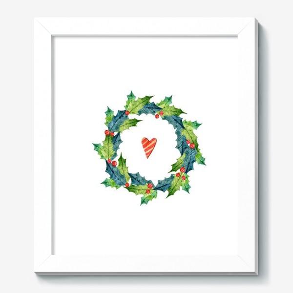 Картина «Рождественский Венок»