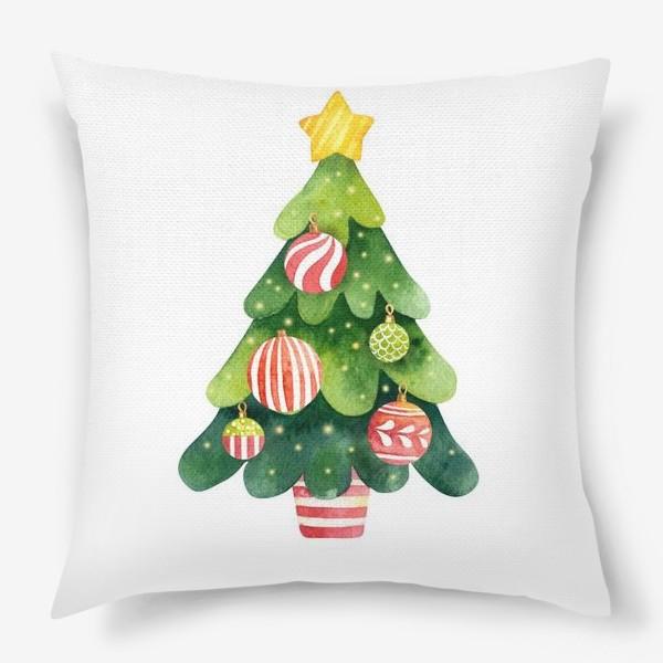 Подушка «Новогодняя Елка»