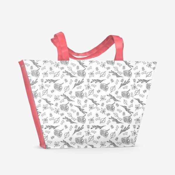 Пляжная сумка «black autumn»