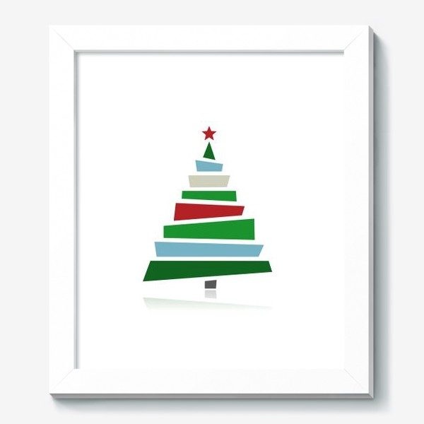 Картина «Стильная елочка»