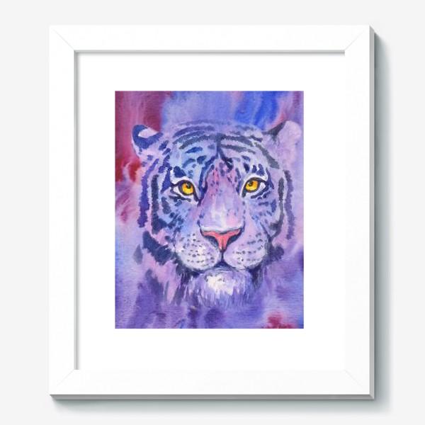 Картина «Сиреневый тигр»
