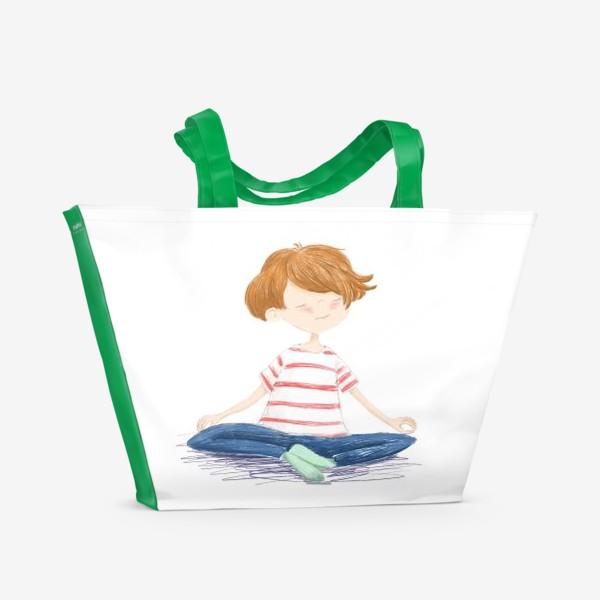 Пляжная сумка «Дзен. Медитация»