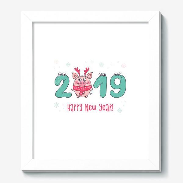 Картина «С Новым 2019 годом!»
