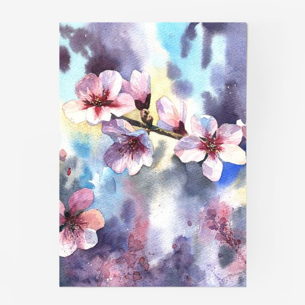 Постер «Цветущий миндаль»
