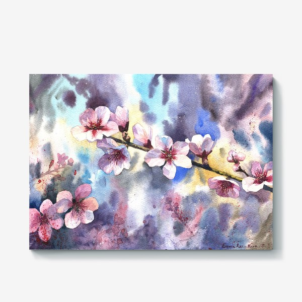 Холст «Цветущий миндаль»