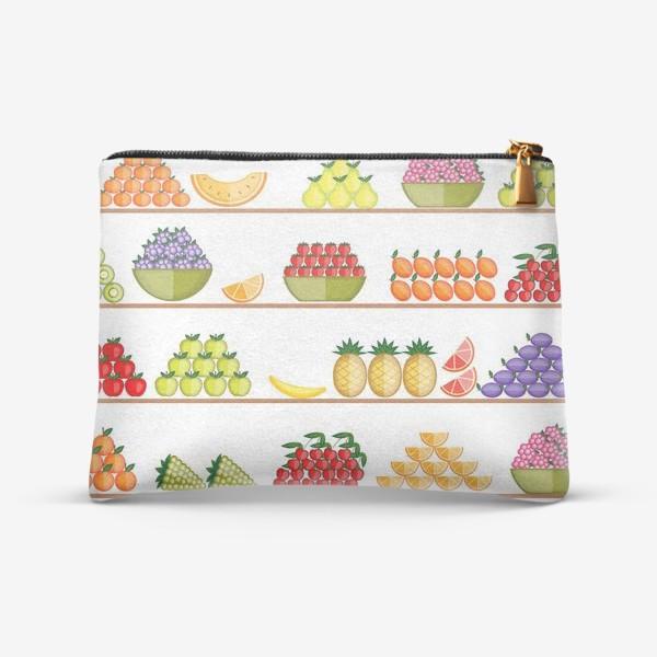 Косметичка «Fruits seamless»