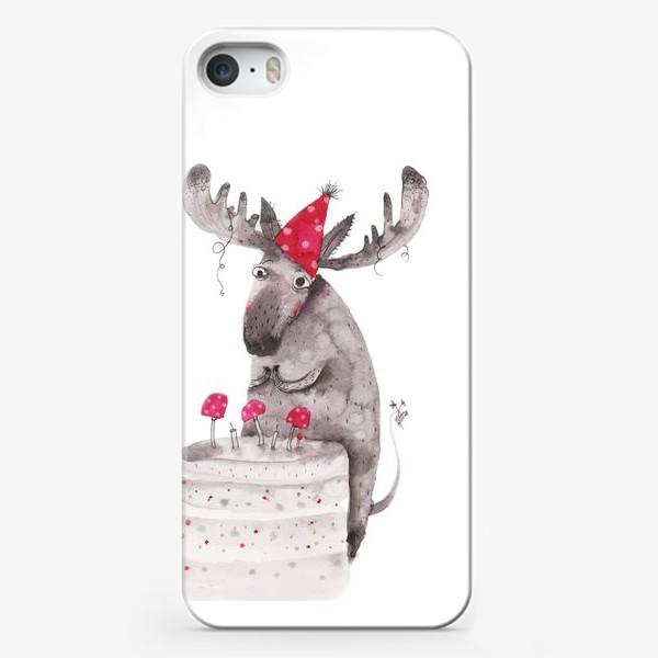 Чехол iPhone «Лось»