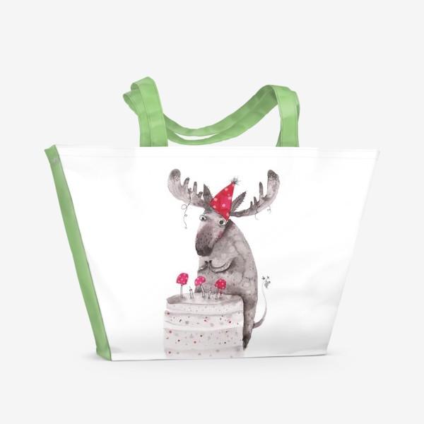 Пляжная сумка «Лось»