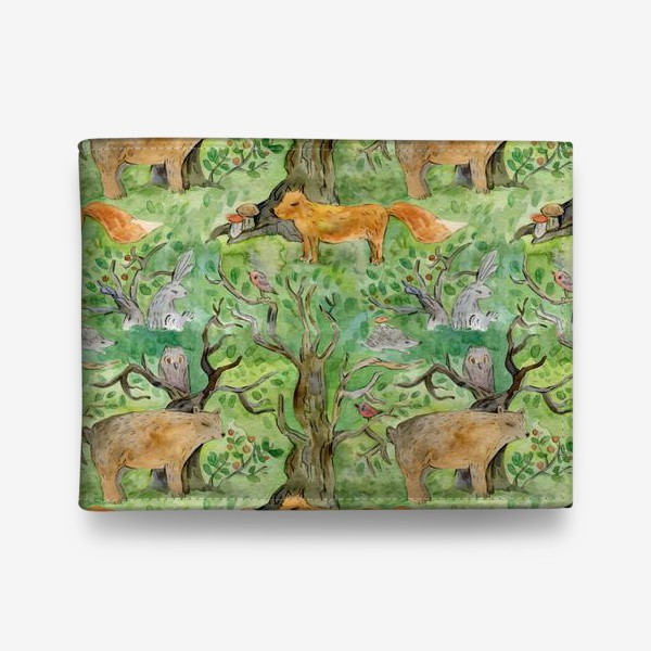 Кошелек «Лес. Лесные обитатели. »