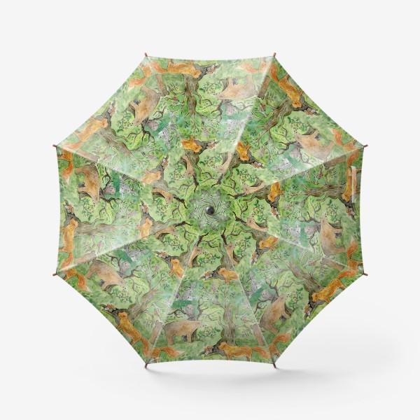 Зонт «Лес. Лесные обитатели. »