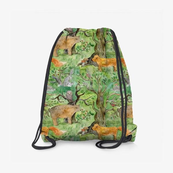 Рюкзак «Лес. Лесные обитатели. »