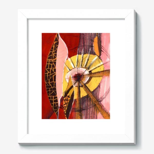 Картина «pink leaves»