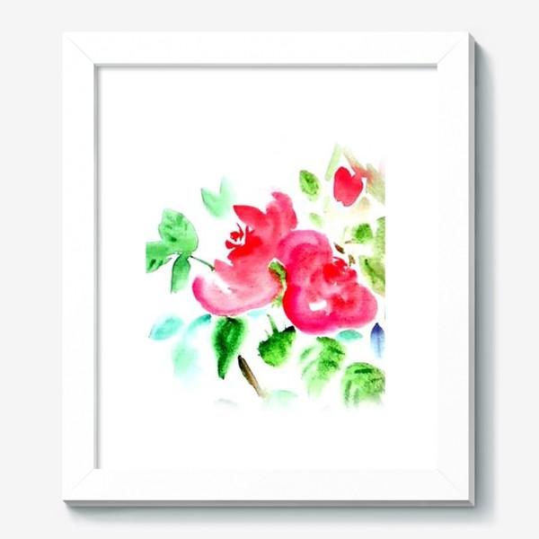 Картина «Китайские розы»