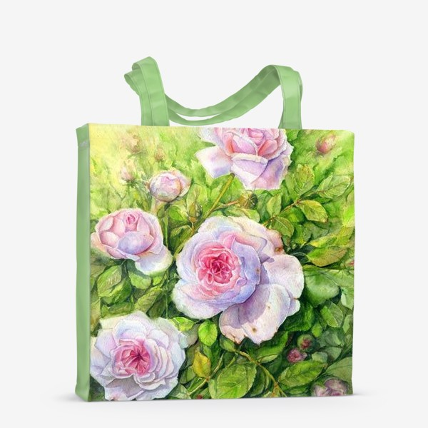 Сумка-шоппер «Розовый куст»