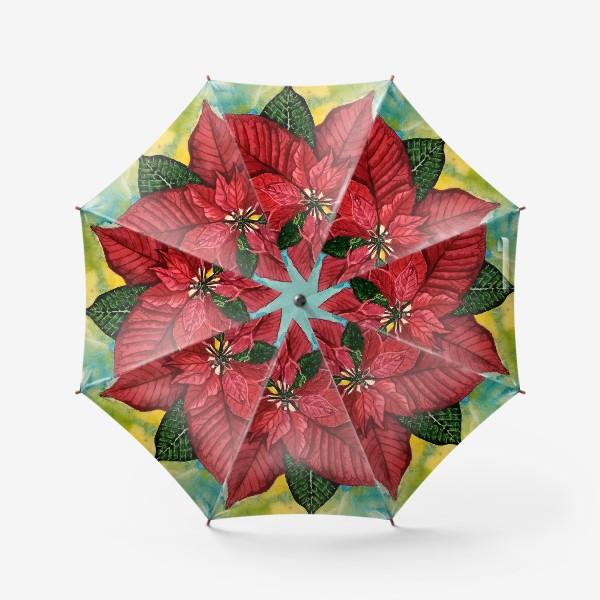 Зонт «Рождественская звезда»