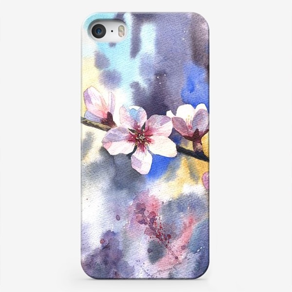 Чехол iPhone «Цветущий миндаль»