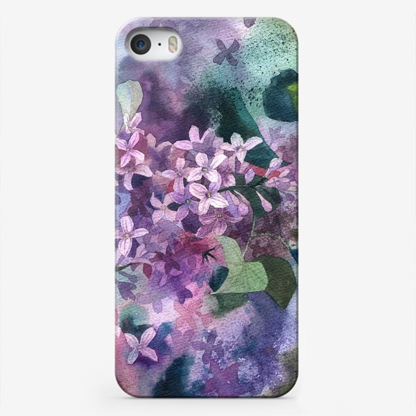 Чехол iPhone «Сирень»
