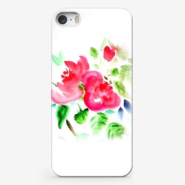 Чехол iPhone «Китайские розы»