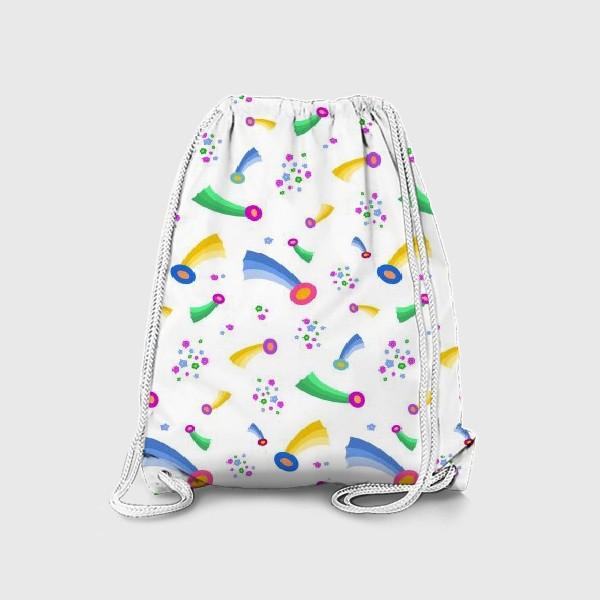 Рюкзак «Кометы и звезды (светлые)»